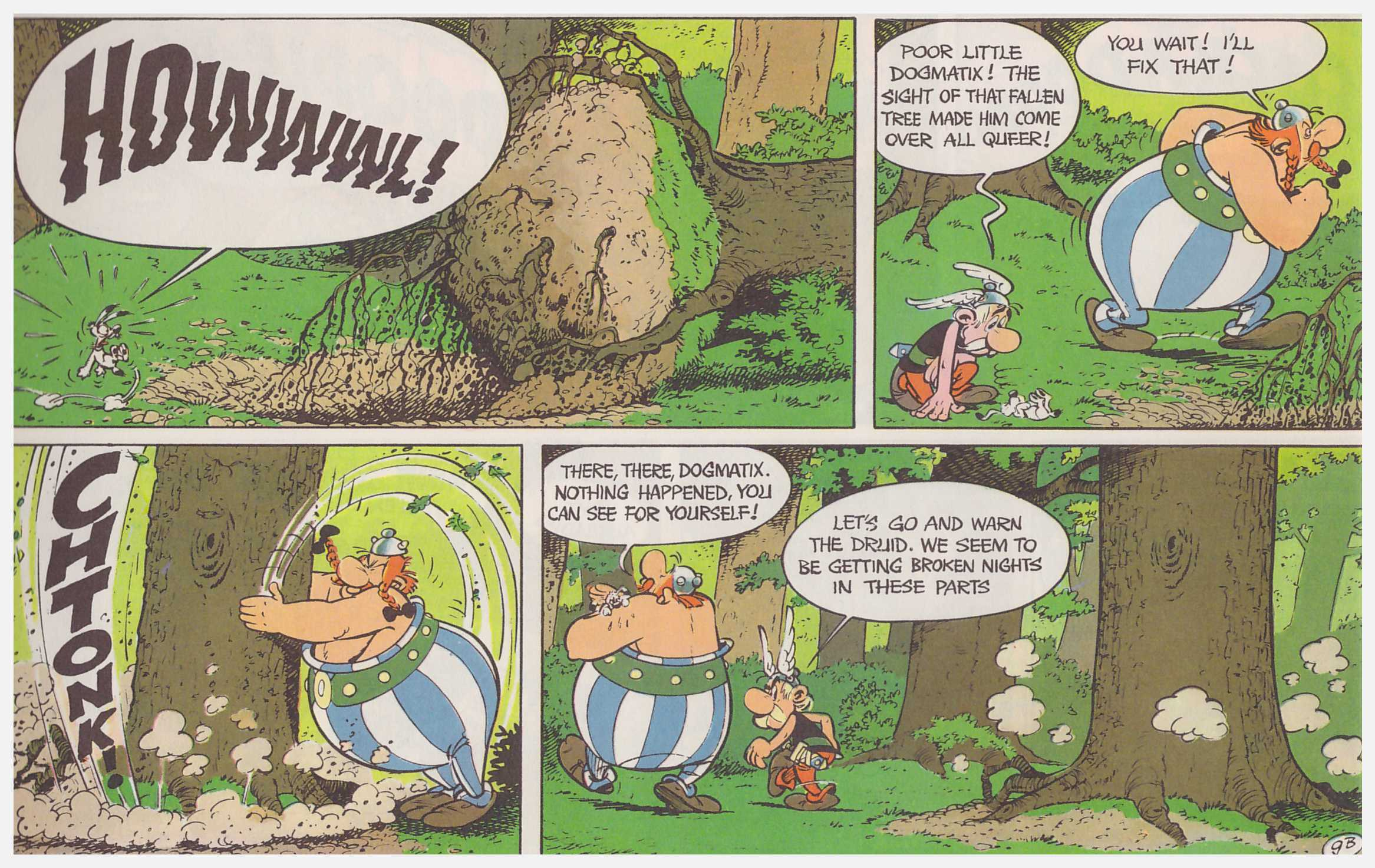 Asterix Mansions of the Gods review
