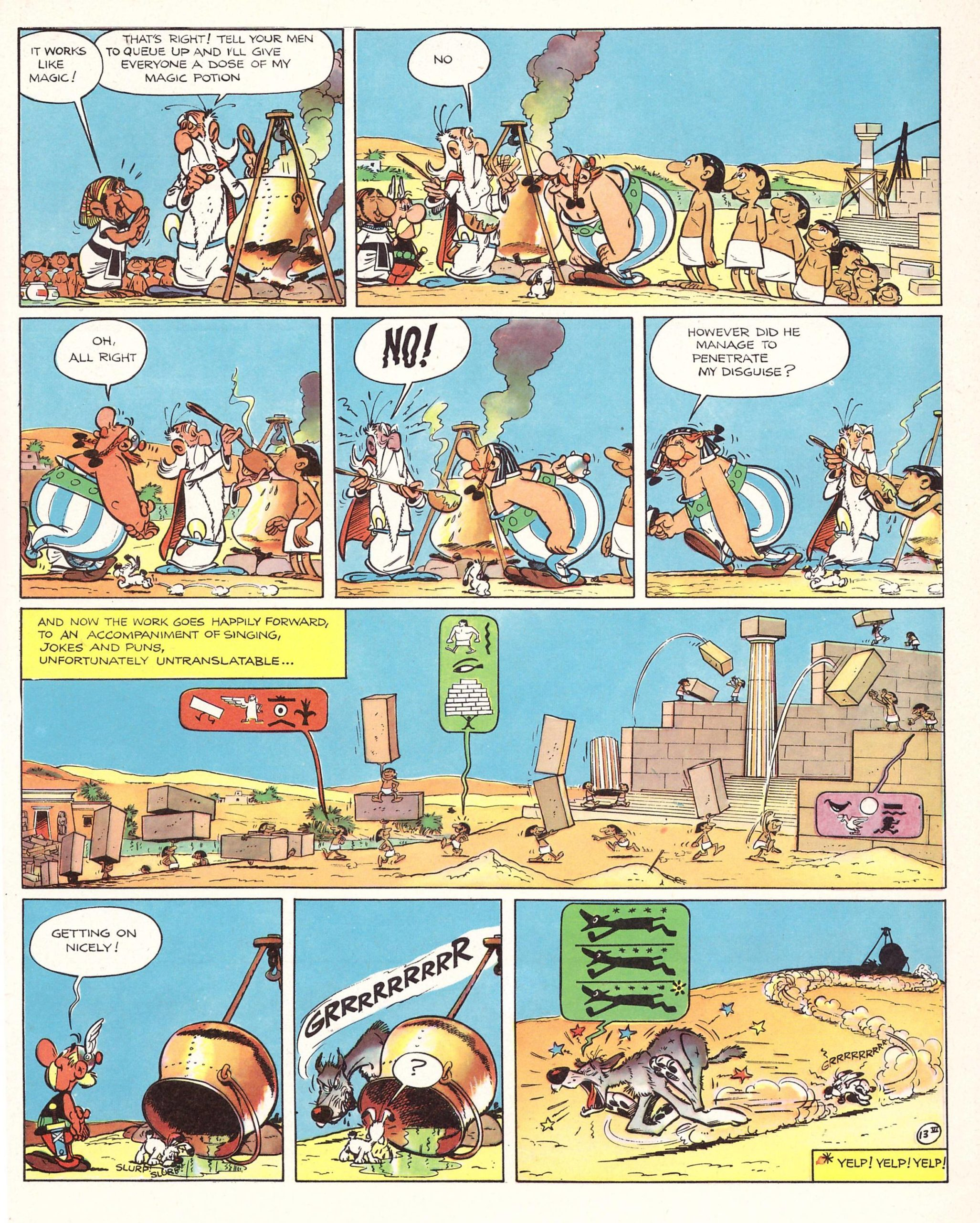 Asterix and Cleopatra review