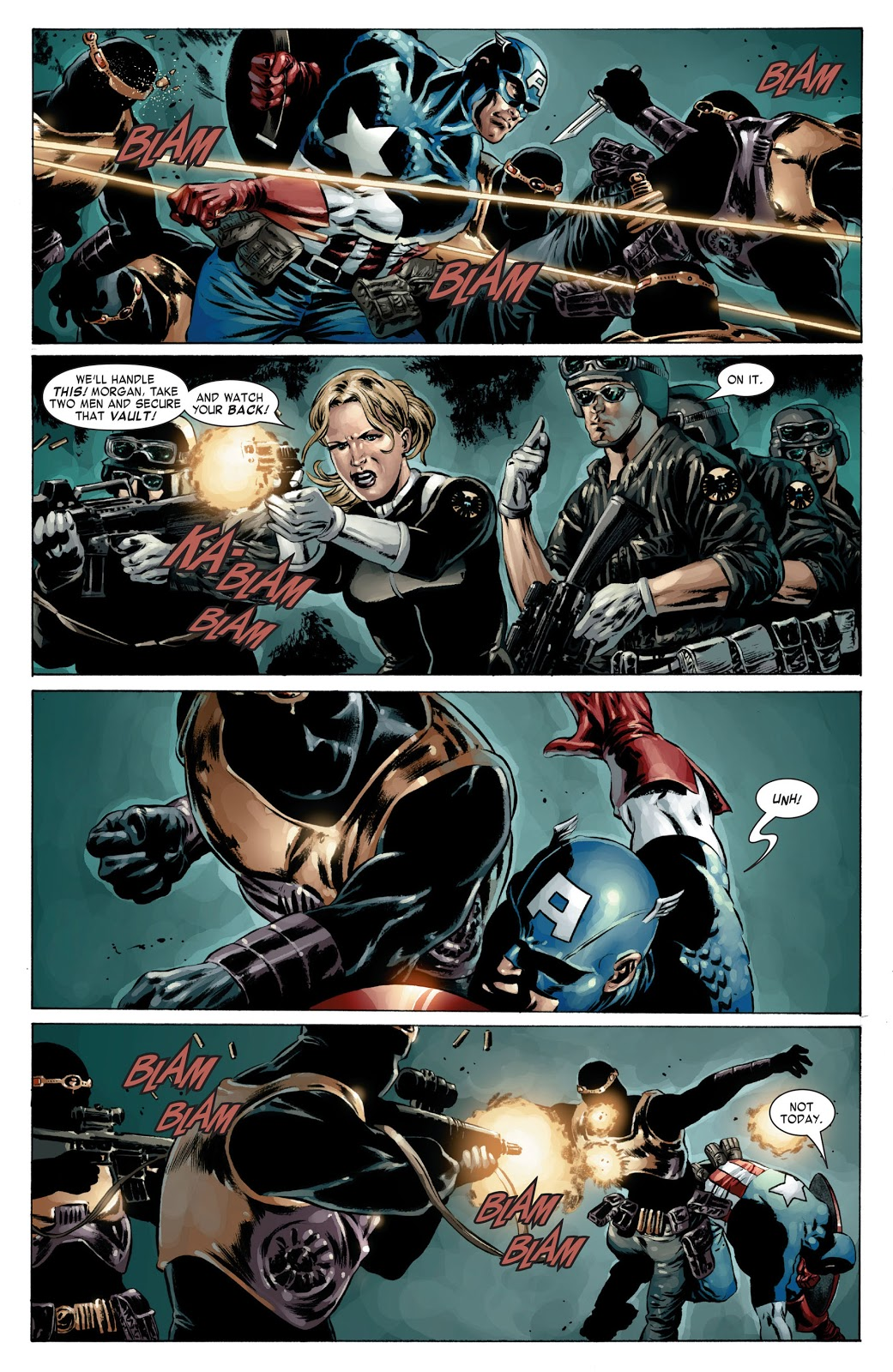 Captain America REd Menace review