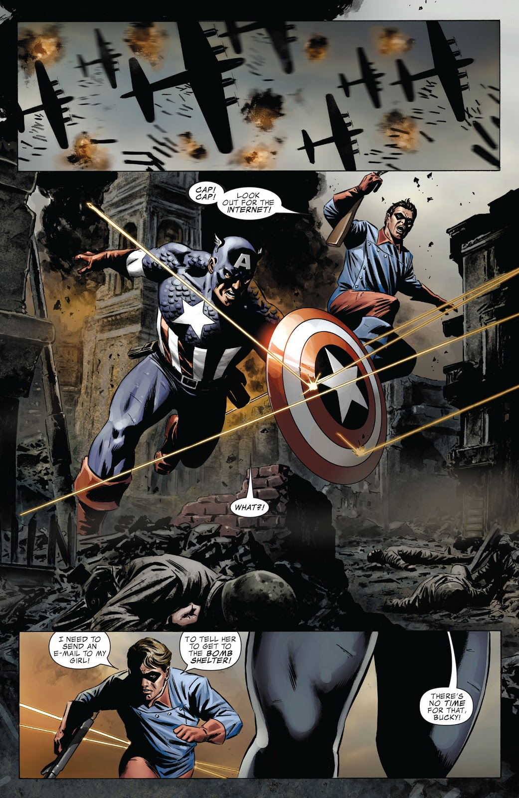 Captain America The Man Who Bought America review