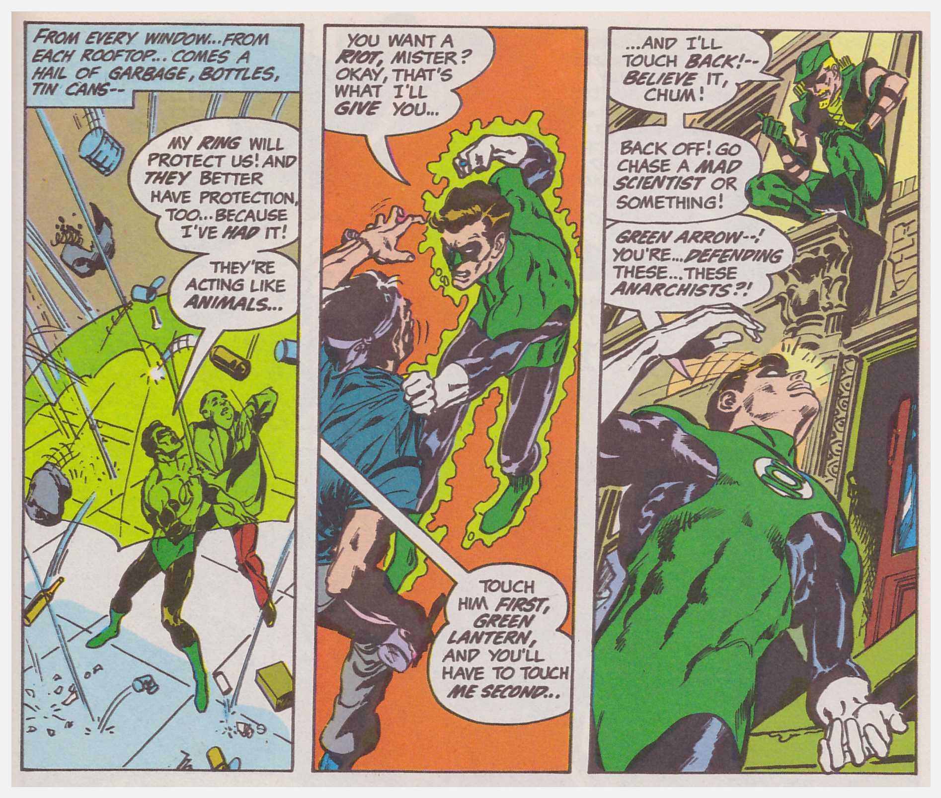 Green Lantern/Green Arrow review