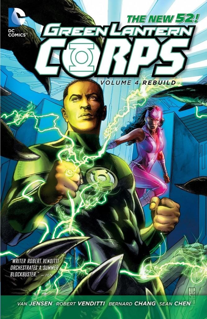 Green Lantern Corps Volume 4: Rebuild
