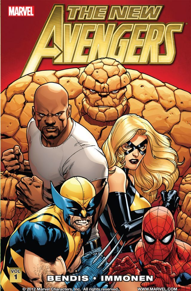 New Avengers by Brian Michael Bendis volume 1