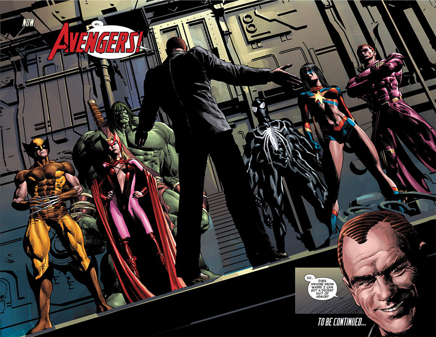 New Avengers by Brian Michael Bendis review