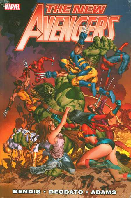 New Avengers by Brian Michael Bendis volume 3