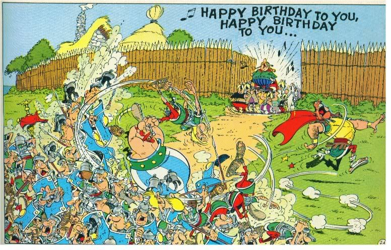 Asterix Obelix and Co review