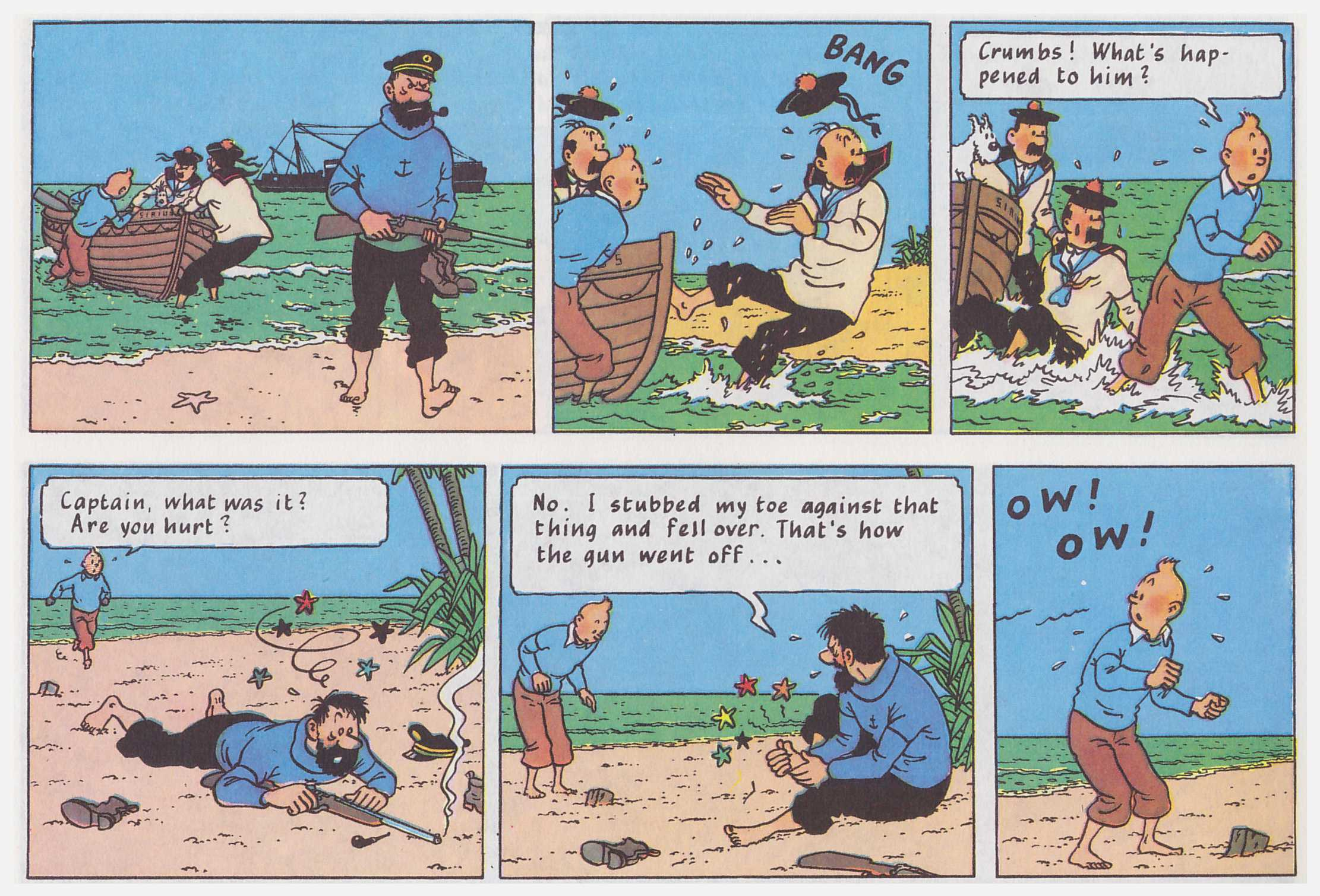 Tintin Red Rackham's Treasure review