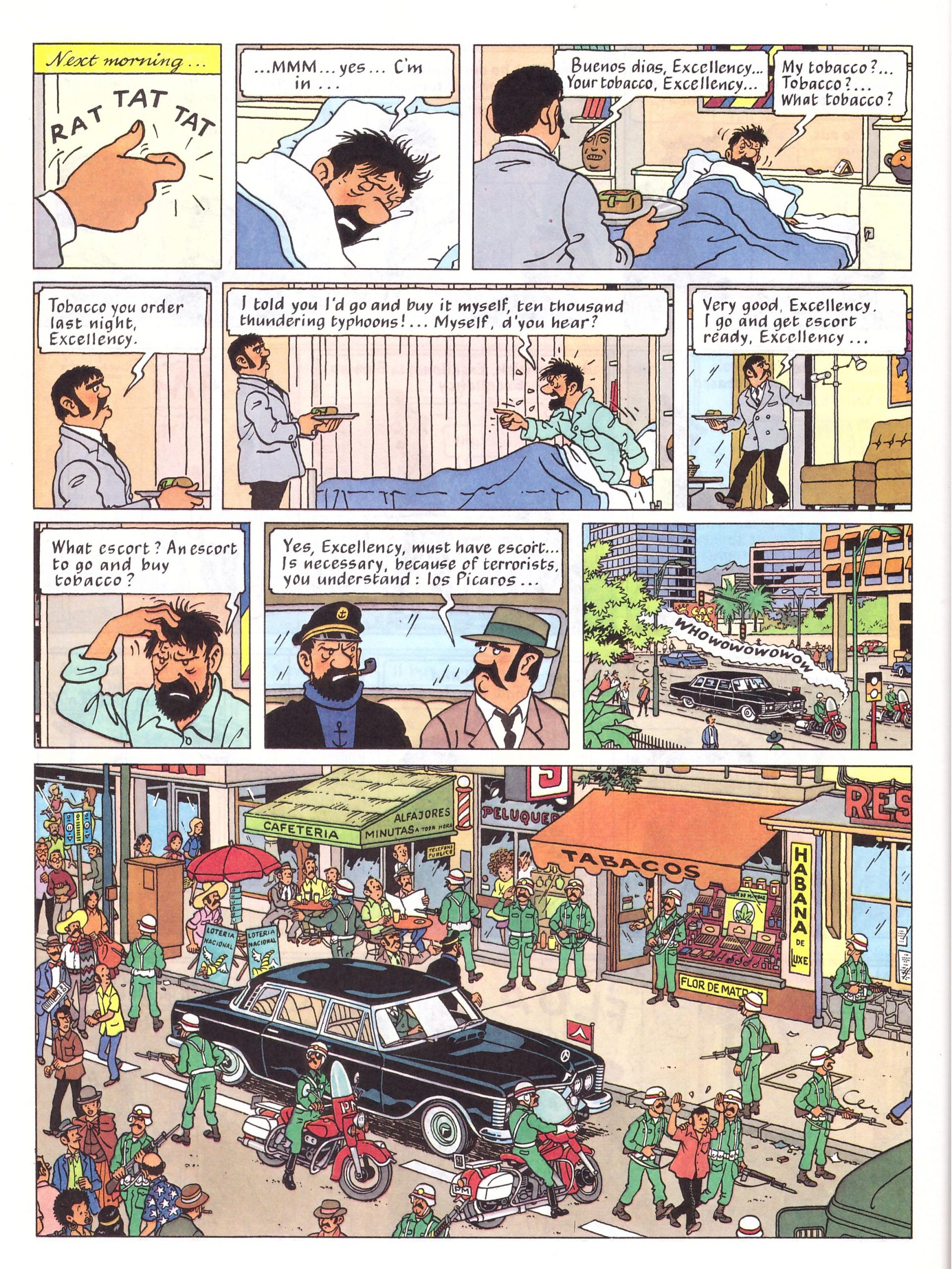 Tintin and the Picaros review