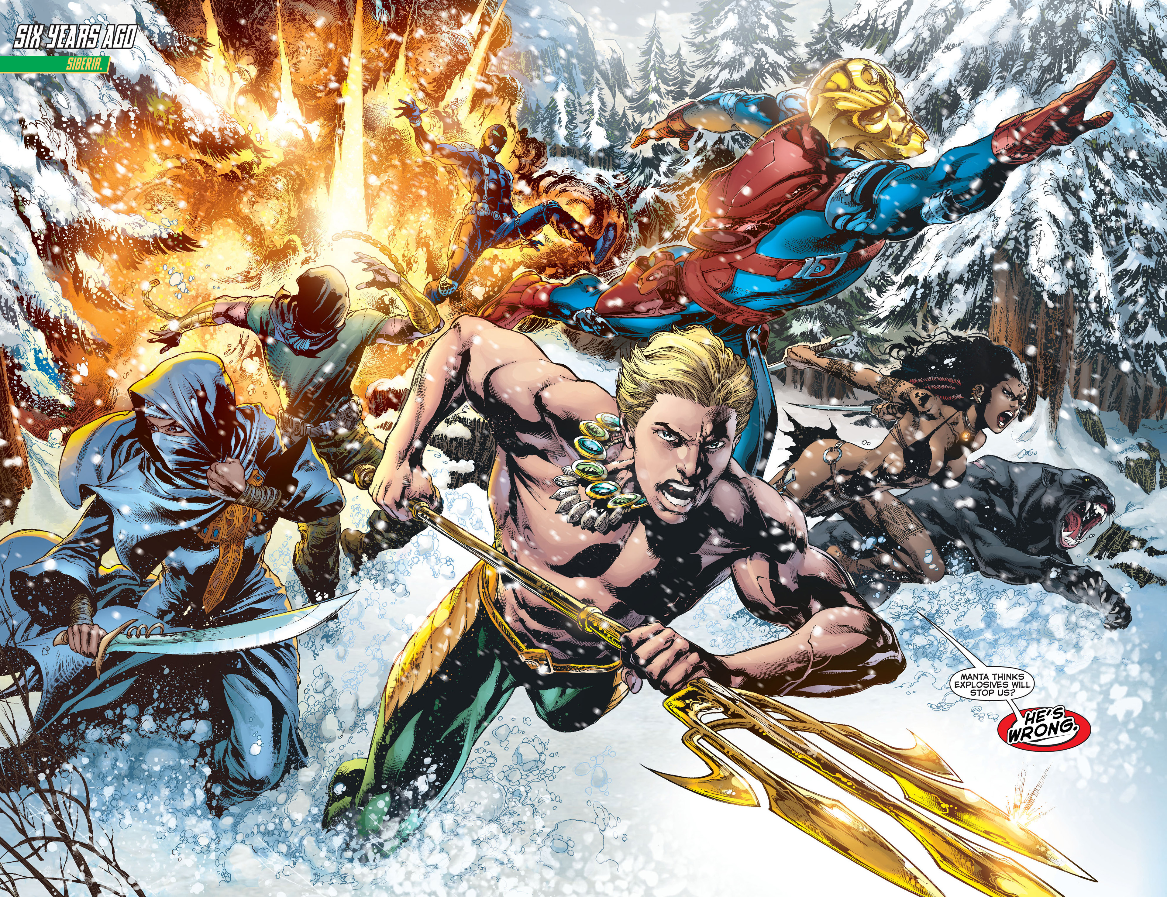 Aquaman The Others review