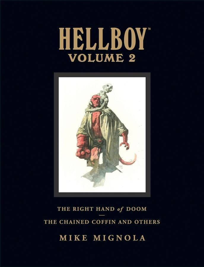 Hellboy Library Edition Volume 2: The Chained Coffin and The Right Hand of Doom