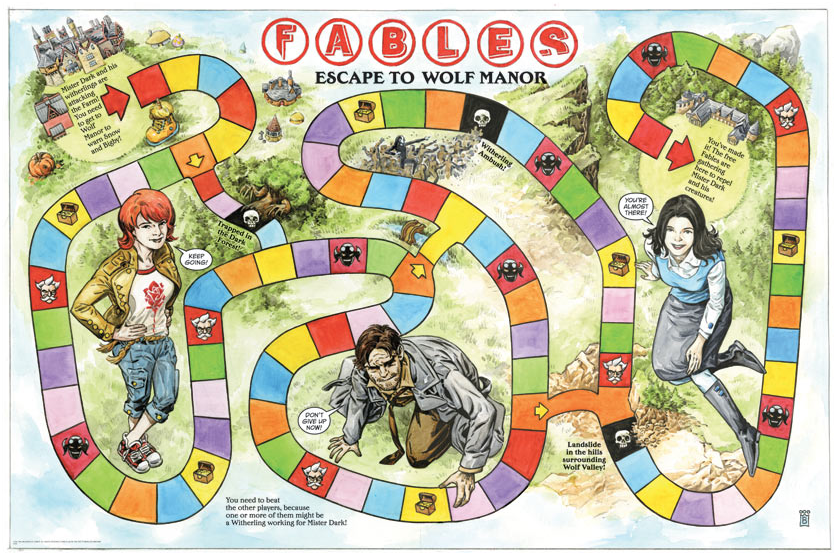 Fables Rose Red review