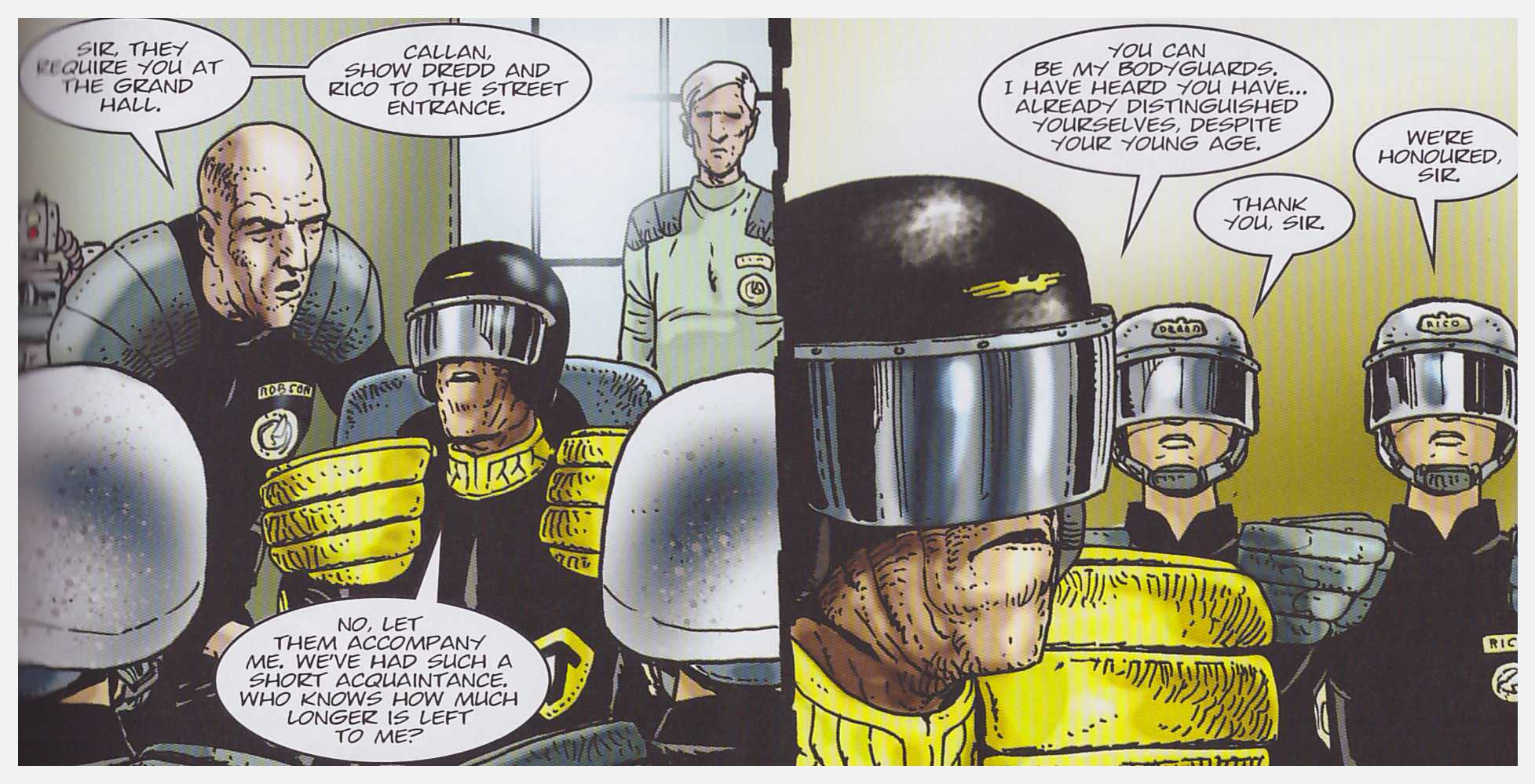 Judge Dredd Origins review