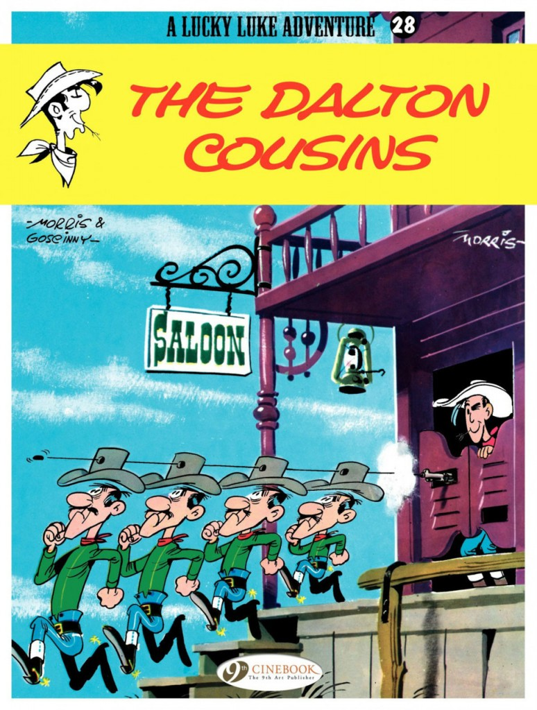 Lucky Luke: The Dalton Cousins