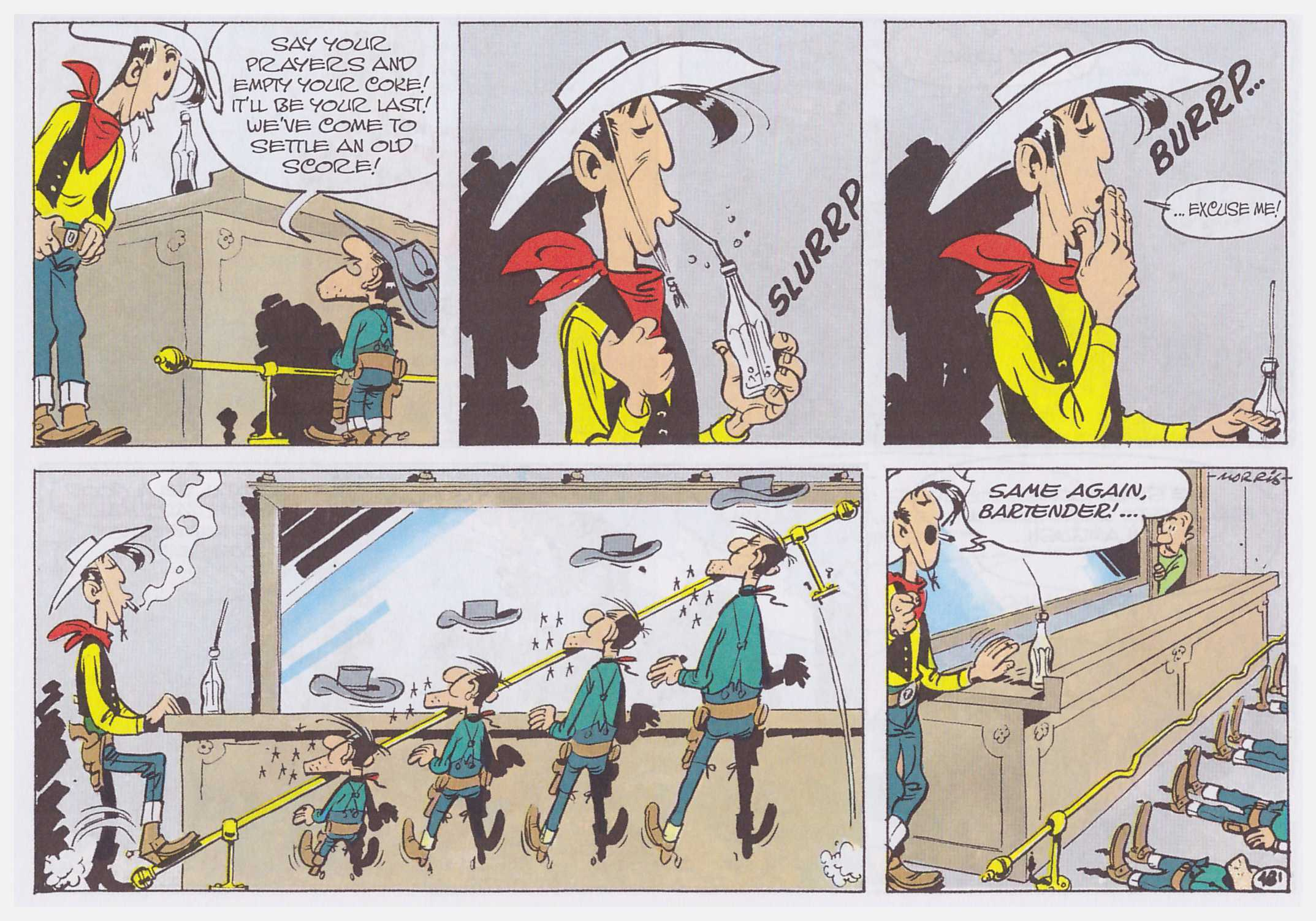 Lucky Luke The Dalton Cousins review