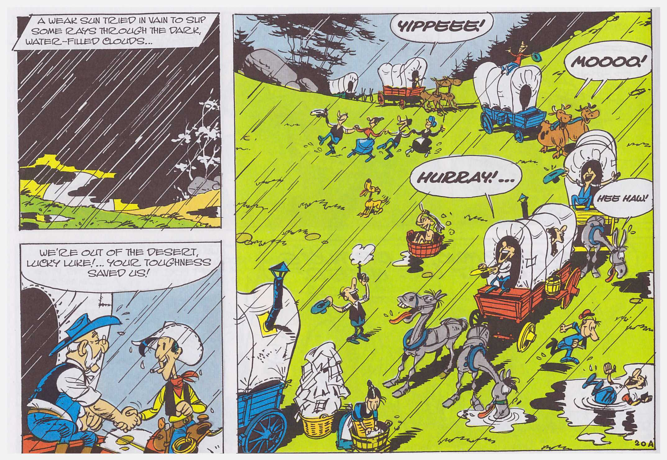 Lucky Luke The Wagon review