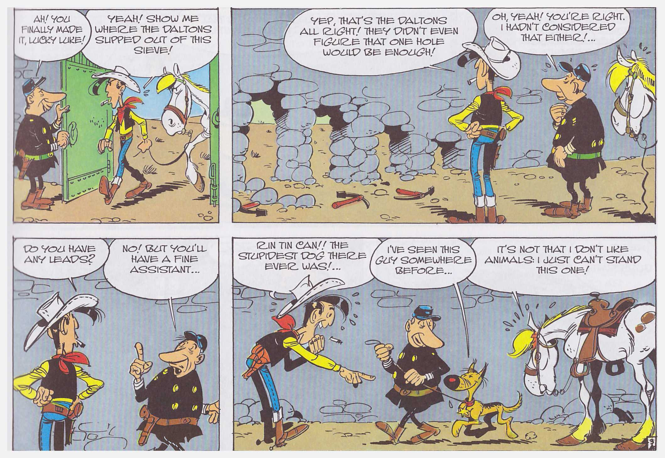 Lucky Luke The Daltons in the Blizzard review