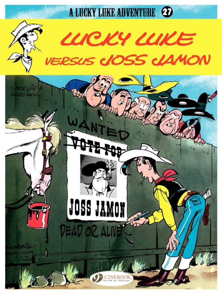 Lucky Luke versus Joss Jamon