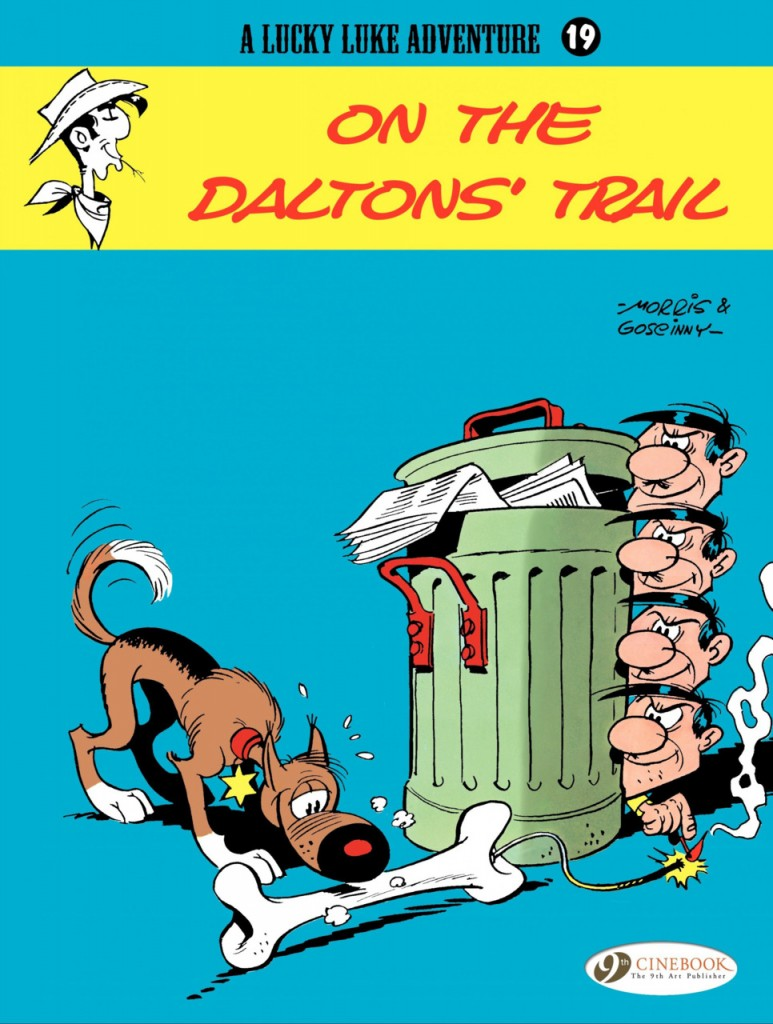 Lucky Luke: On the Daltons' Trail