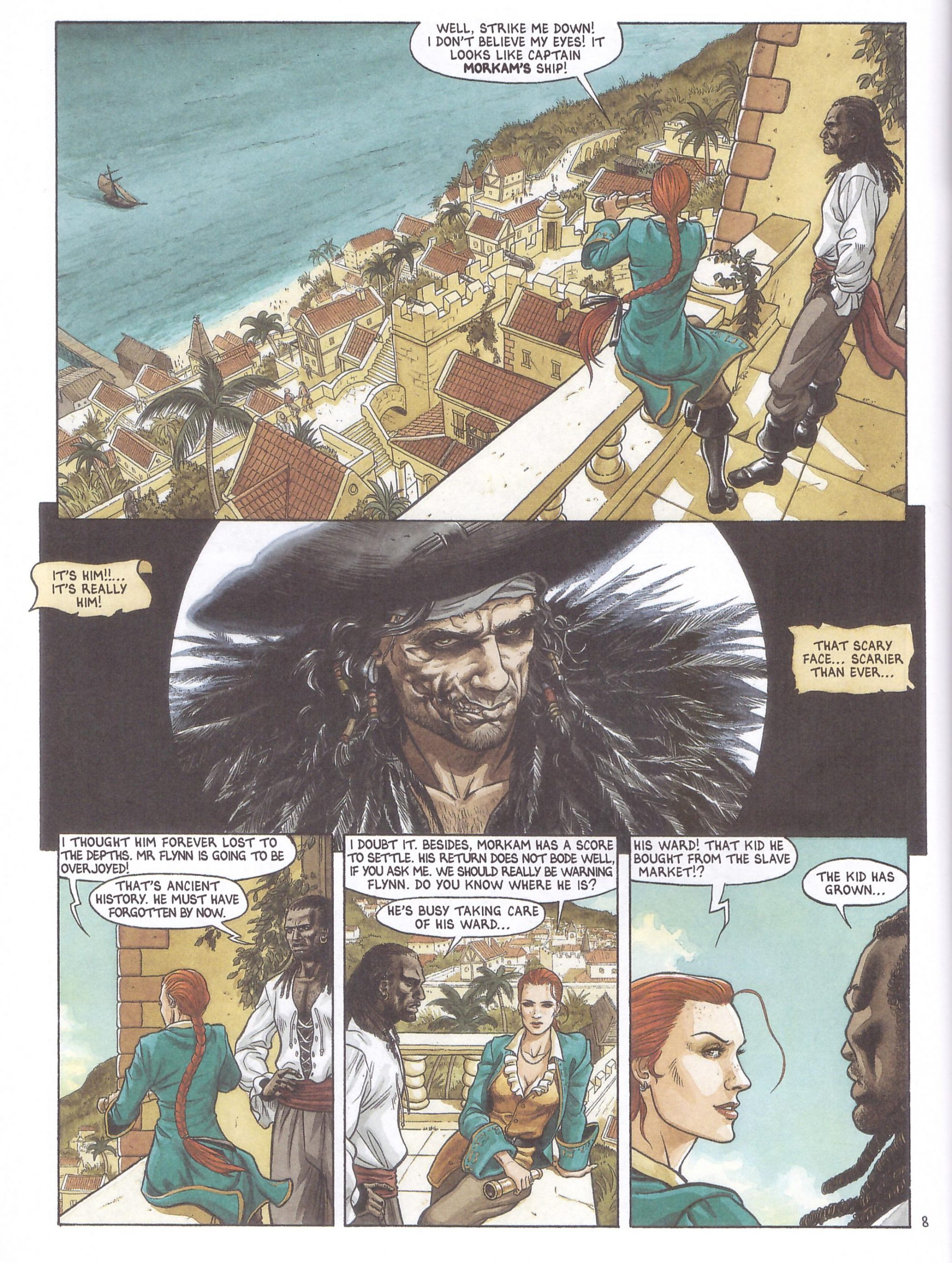 Barracuda Scars graphic novel review