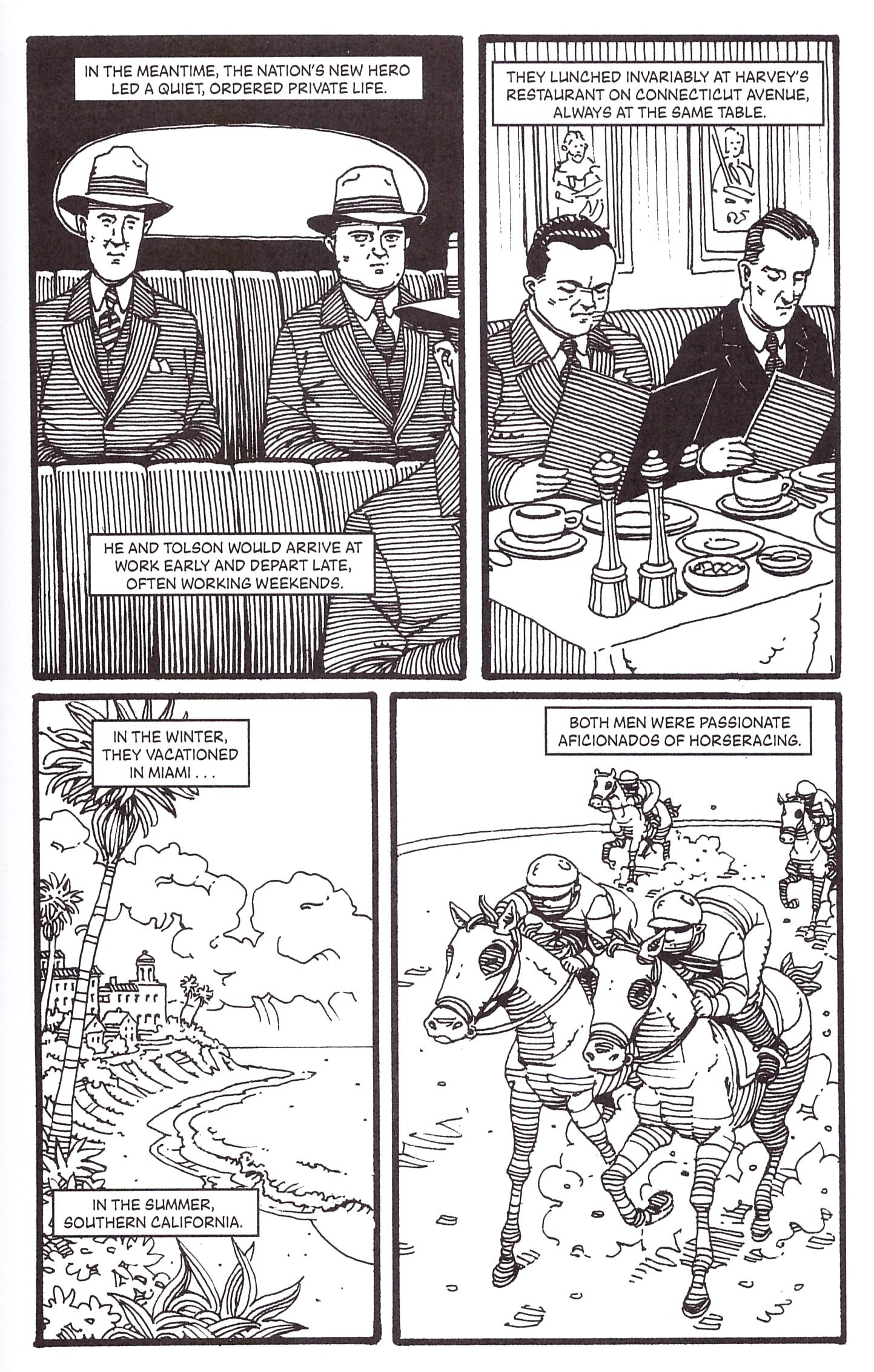 J. Edgar Hoover a Graphic Biography review