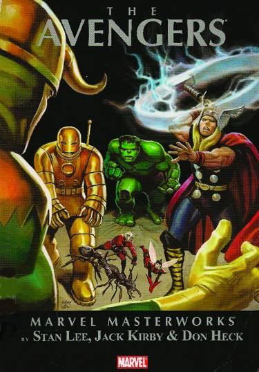Marvel Masterworks: The Avengers Volume 1