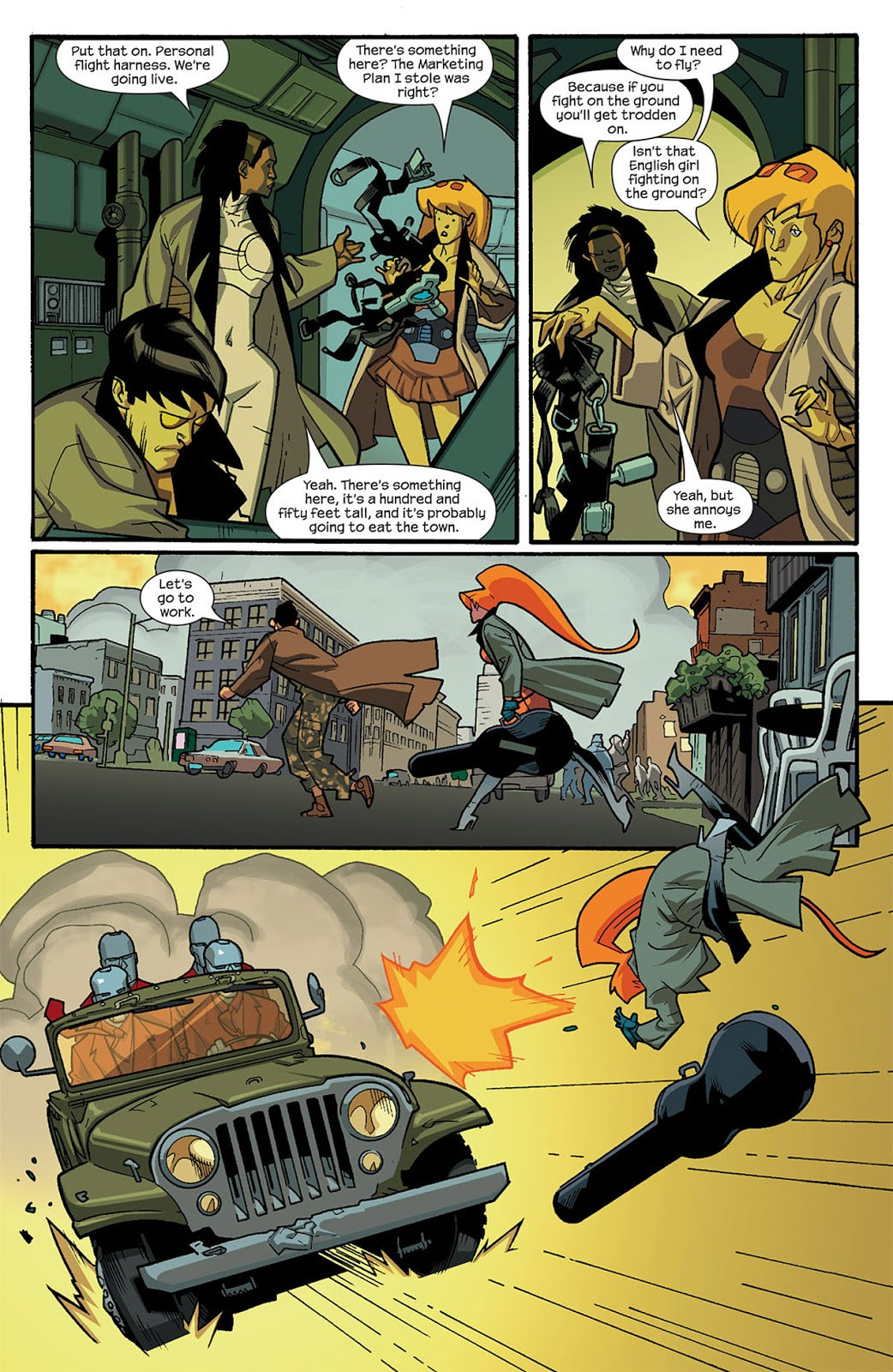 Nextwave Agents of Hate review