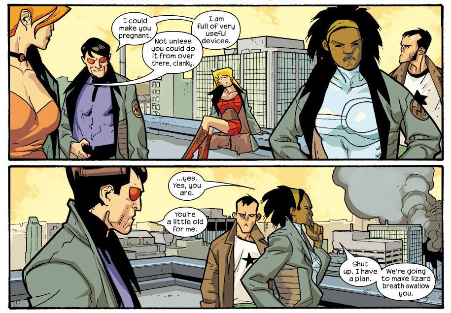 Nextwave Agents of H.A.T.E This is What They Want review