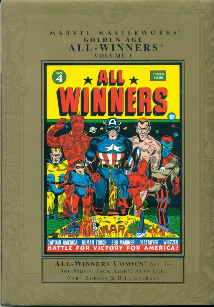 Marvel Masterworks: Golden Age All-Winners Comics Volume 1