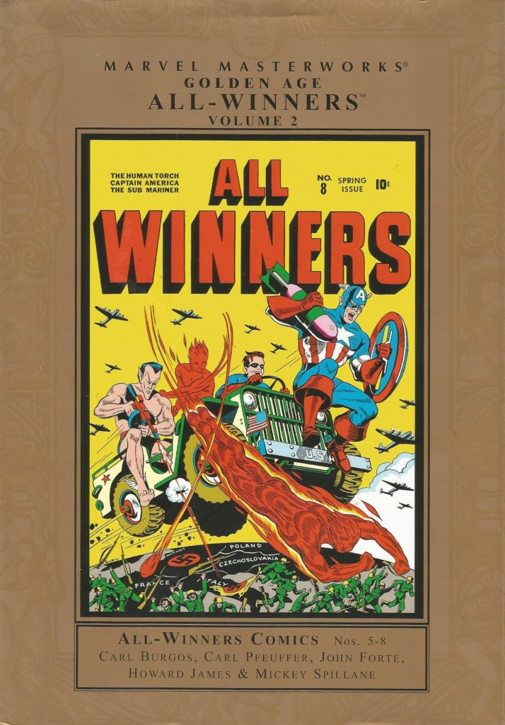 Marvel Masterworks: Golden Age All-Winners Comics Volume 2