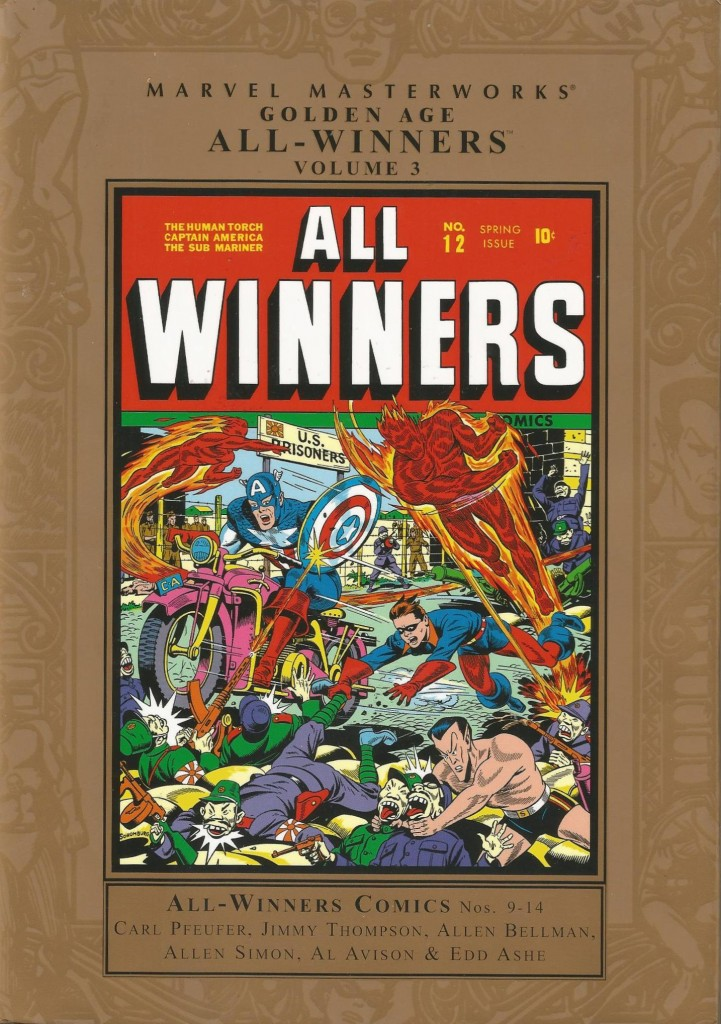 Marvel Masterworks: Golden Age All-Winners Comics Volume 3