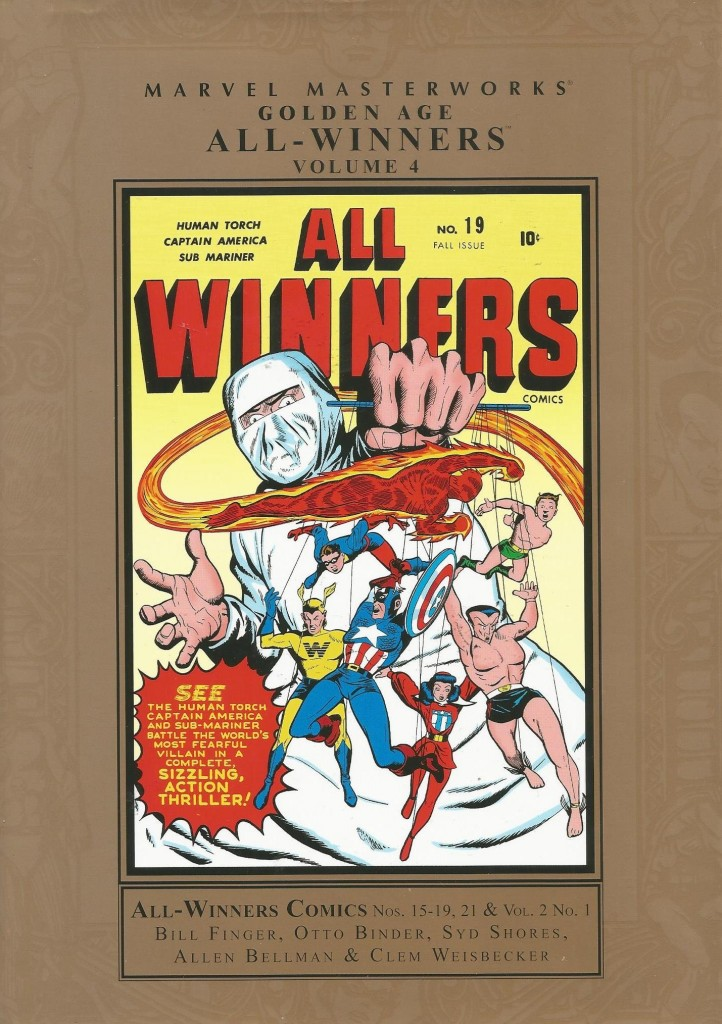 Marvel Masterworks: Golden Age All-Winners Comics Volume 4