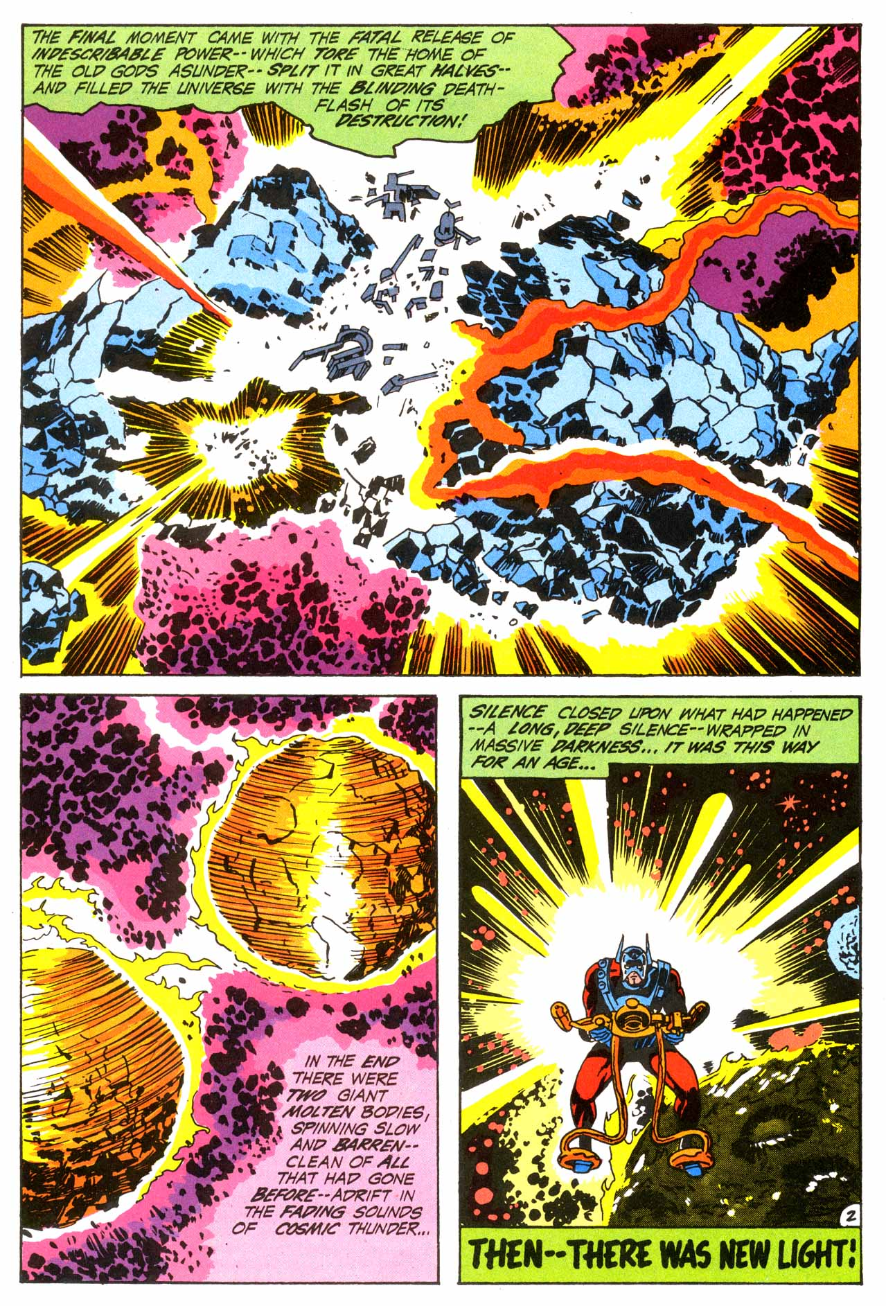 Jack Kirby's Fourth World Omnibus review