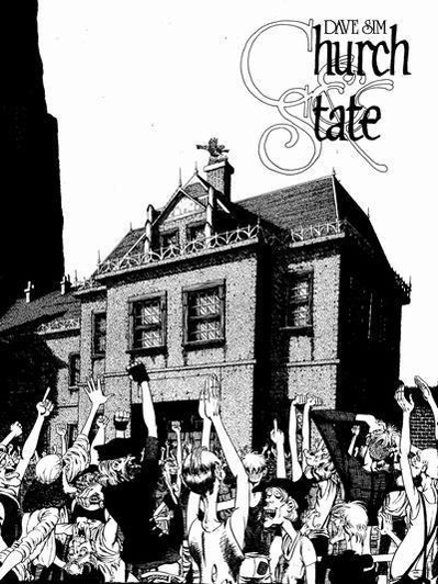 Cerebus the Aardvark: Church and State 1