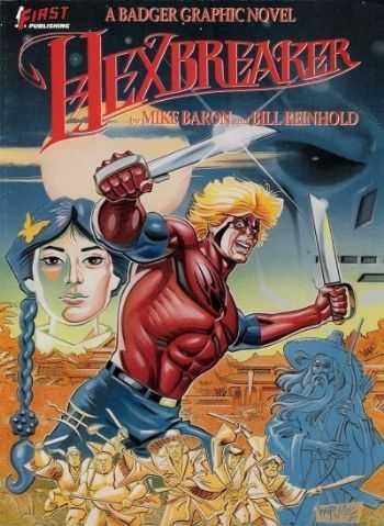 Hexbreaker: A Badger graphic novel