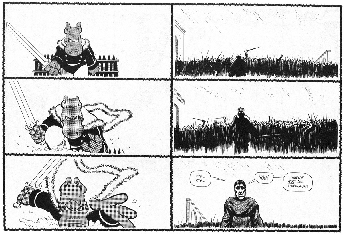 Cerebus High Society review