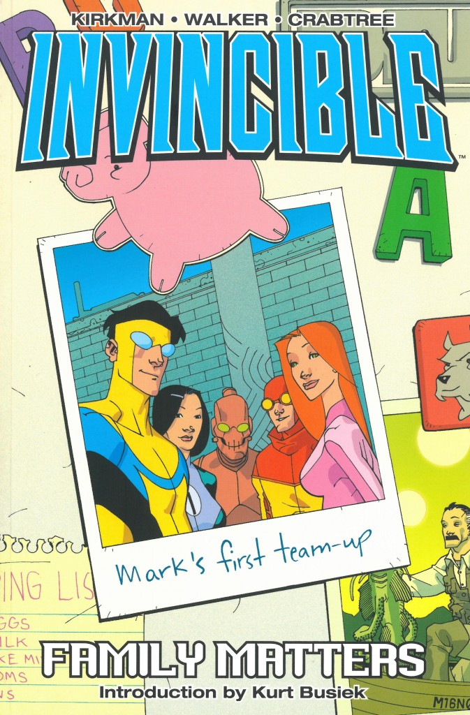 Invincible Volume One: Family Matters