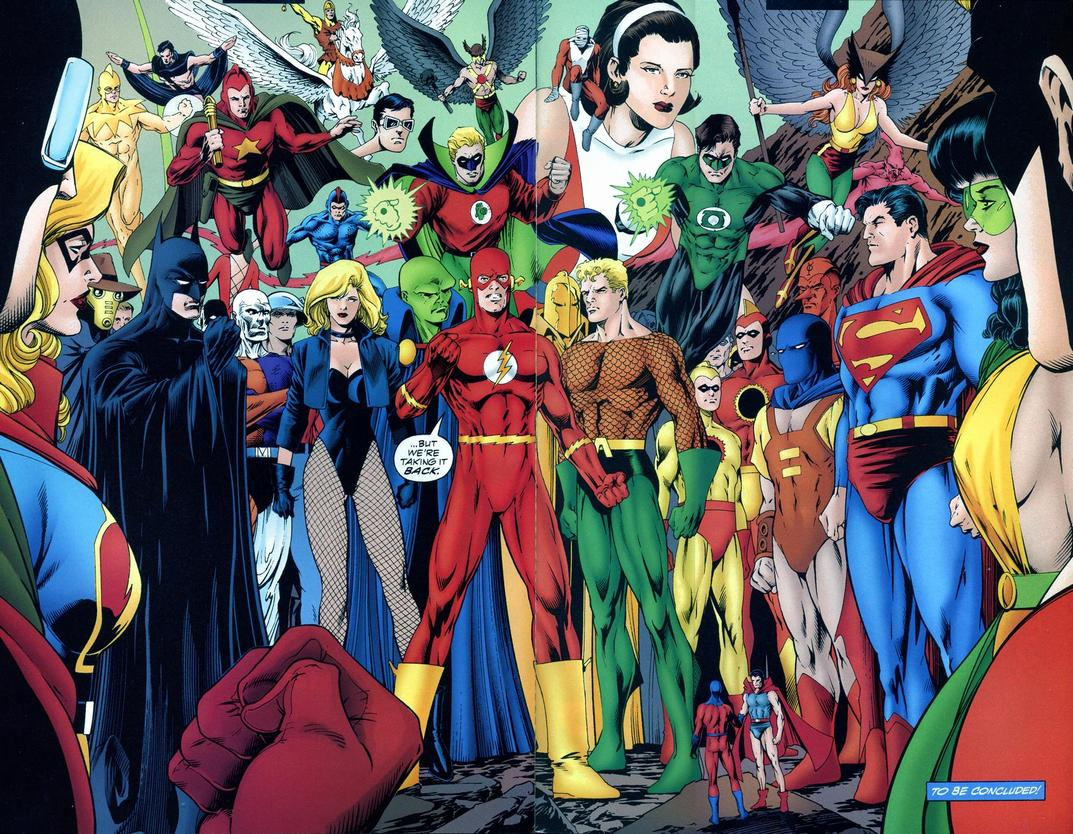 JLA Year One review