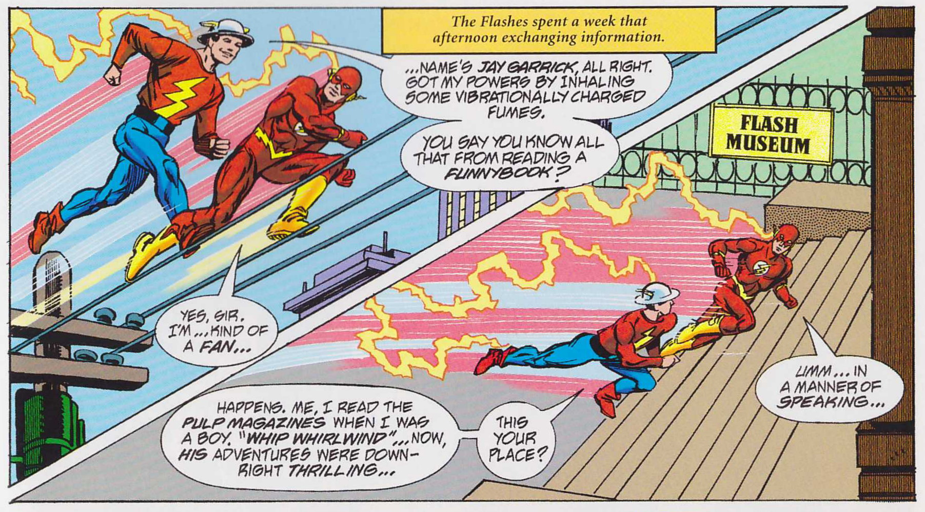 The Life Story of the Flash review