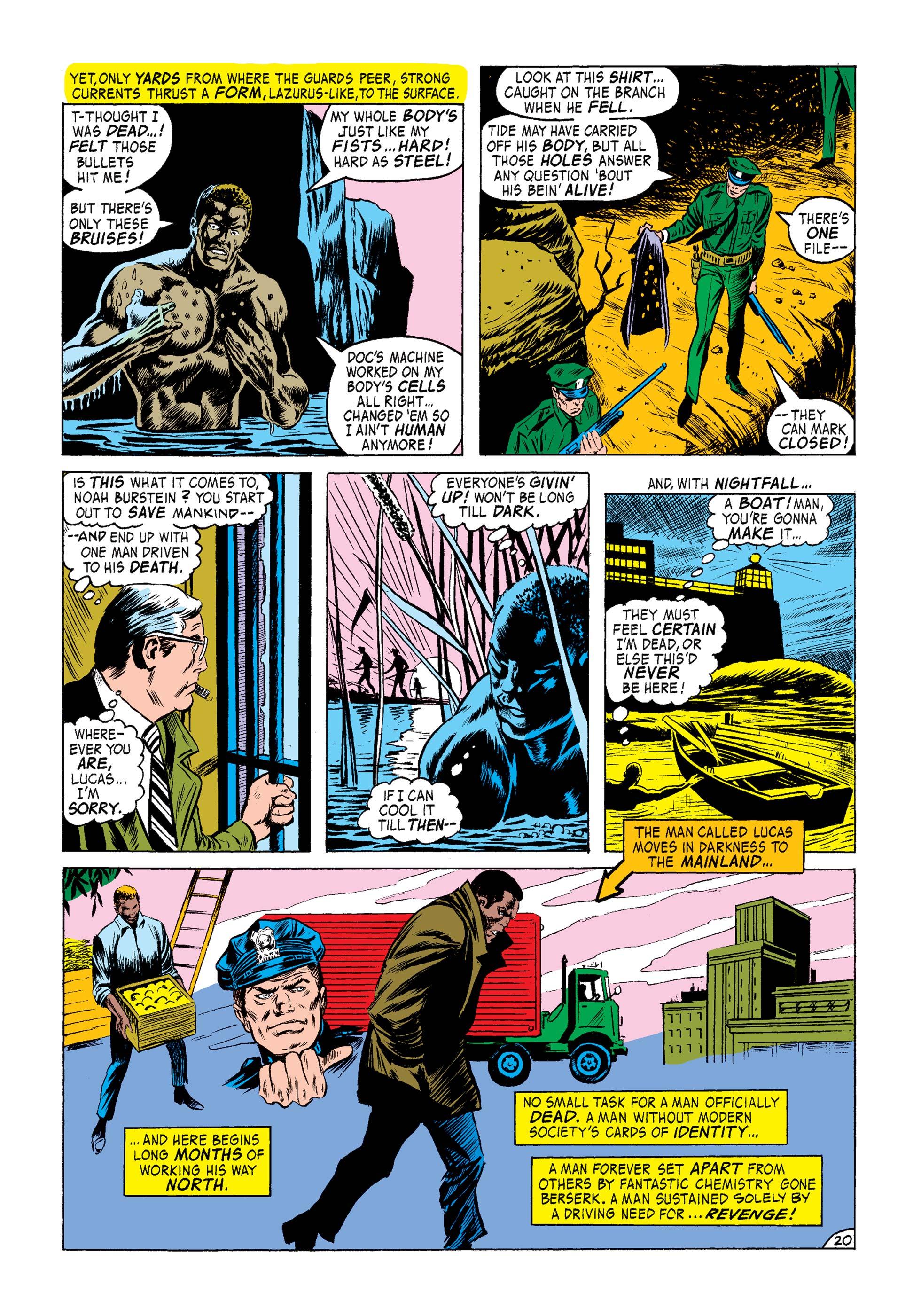 Marvel Masterworks Luke Cage Hero For Hire review