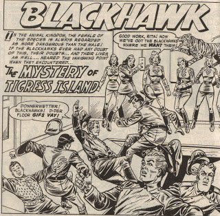 Showcase Presents Blackhawk review