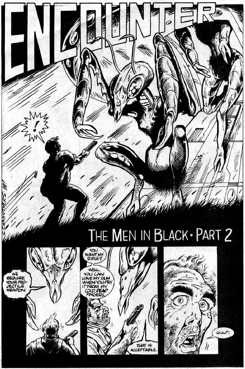 The Men in Black graphic novel review