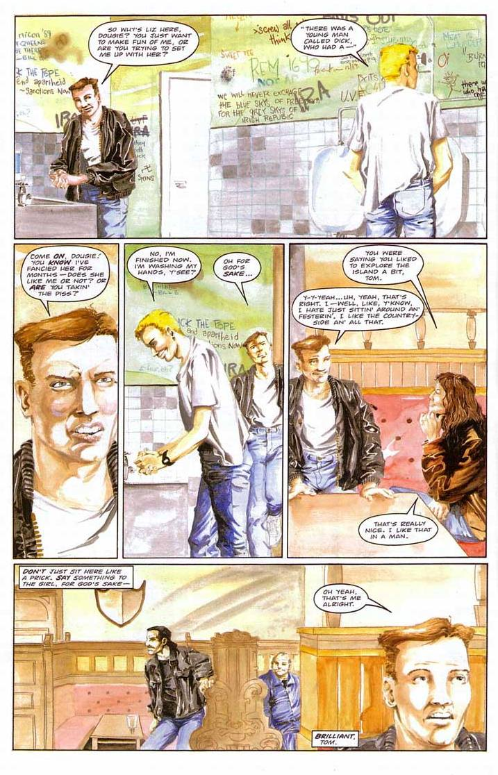 Troubled Souls graphic novel review