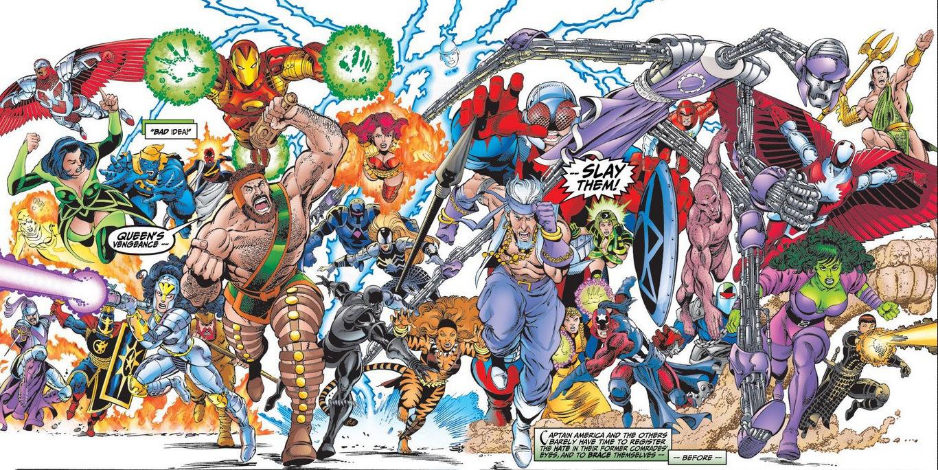 Avengers Assemble 1 review