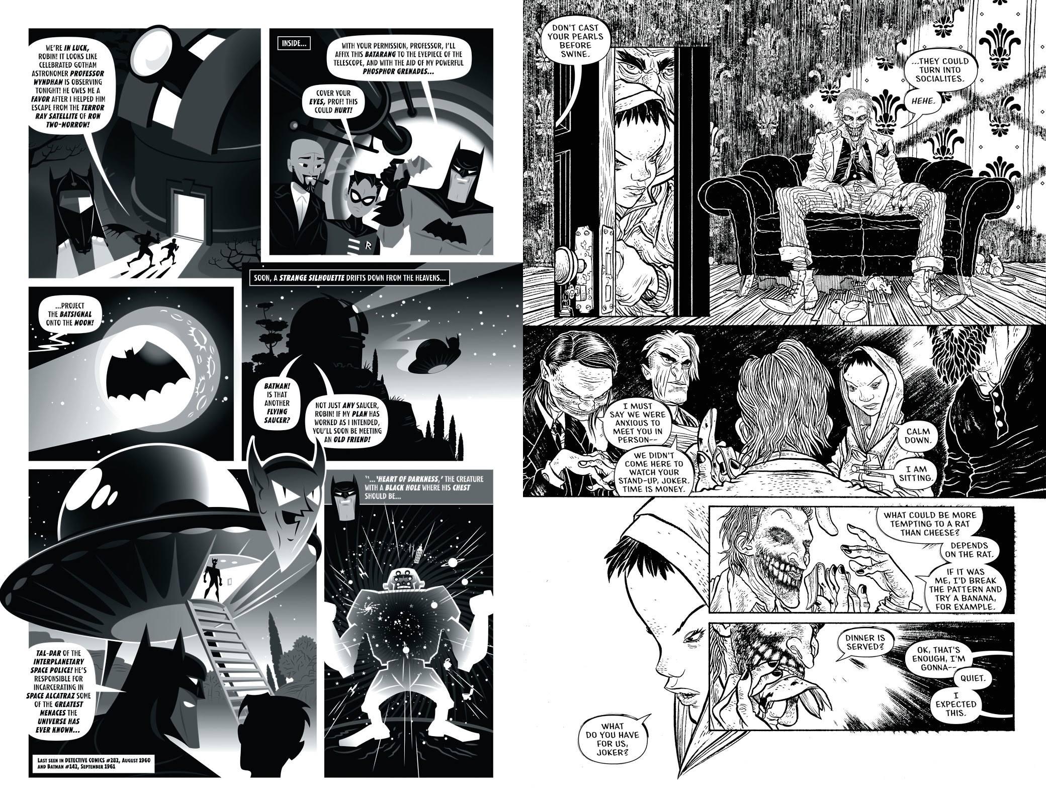 Batman Black and White Vol 4 review