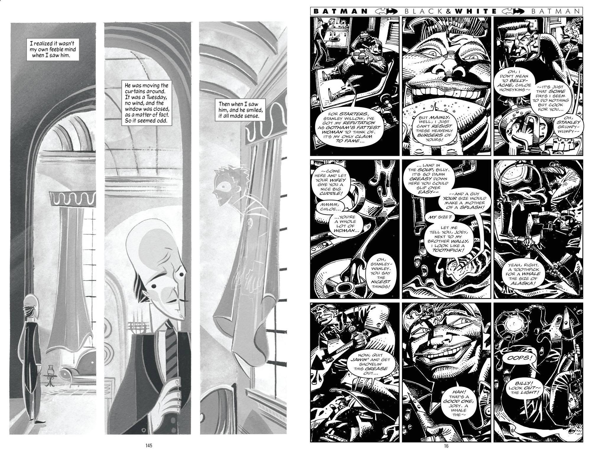 Batman Black and White vol 3 review
