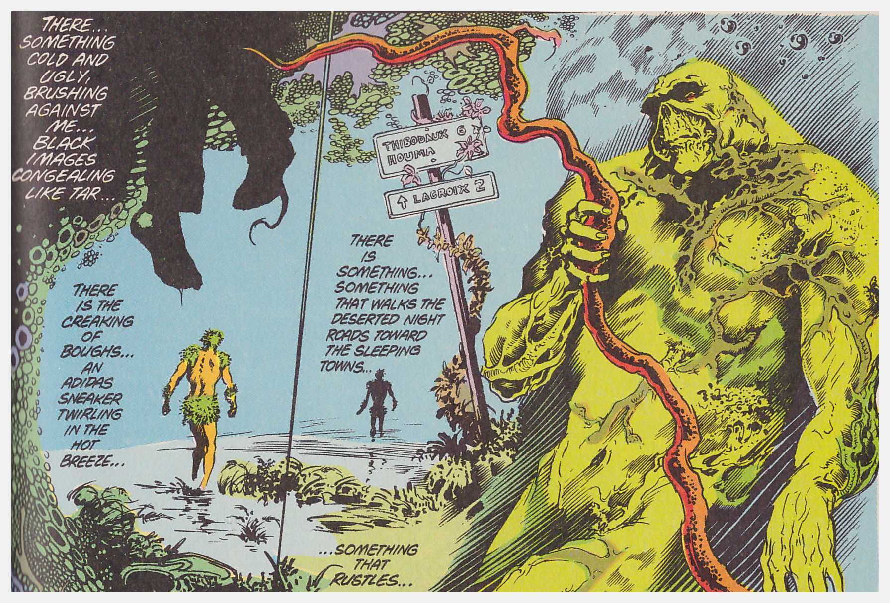 Saga of the Swamp Thing Book one review