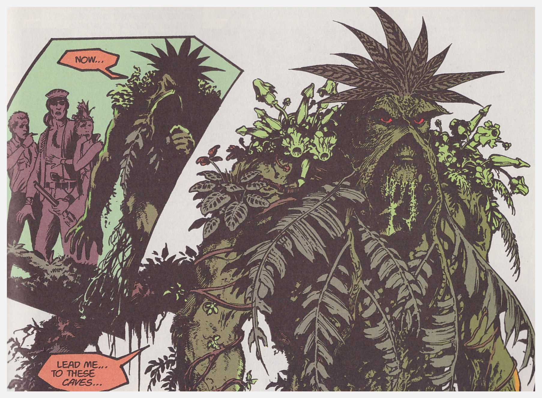 Saga of the Swamp Thing Book four review