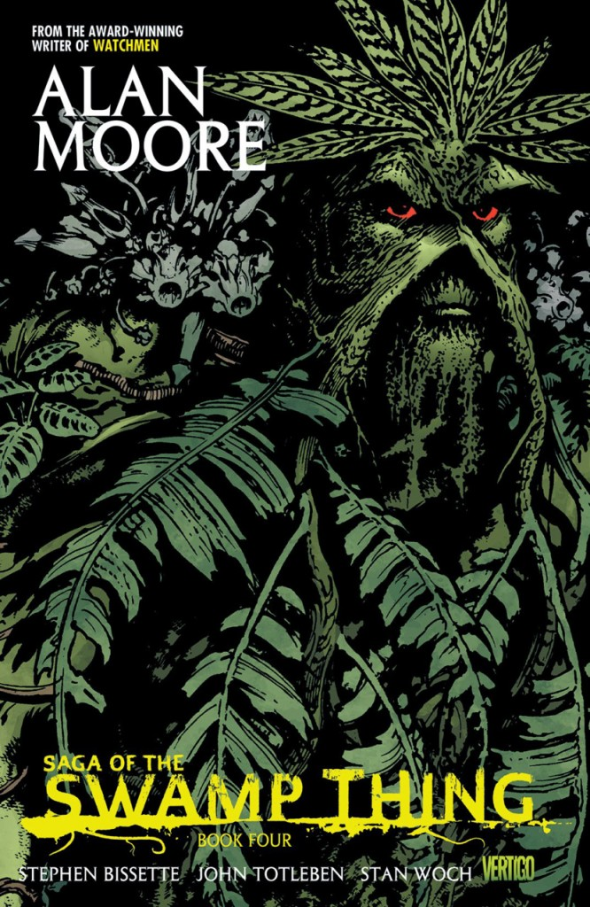 Saga of the Swamp Thing Book Four: A Murder of Crows