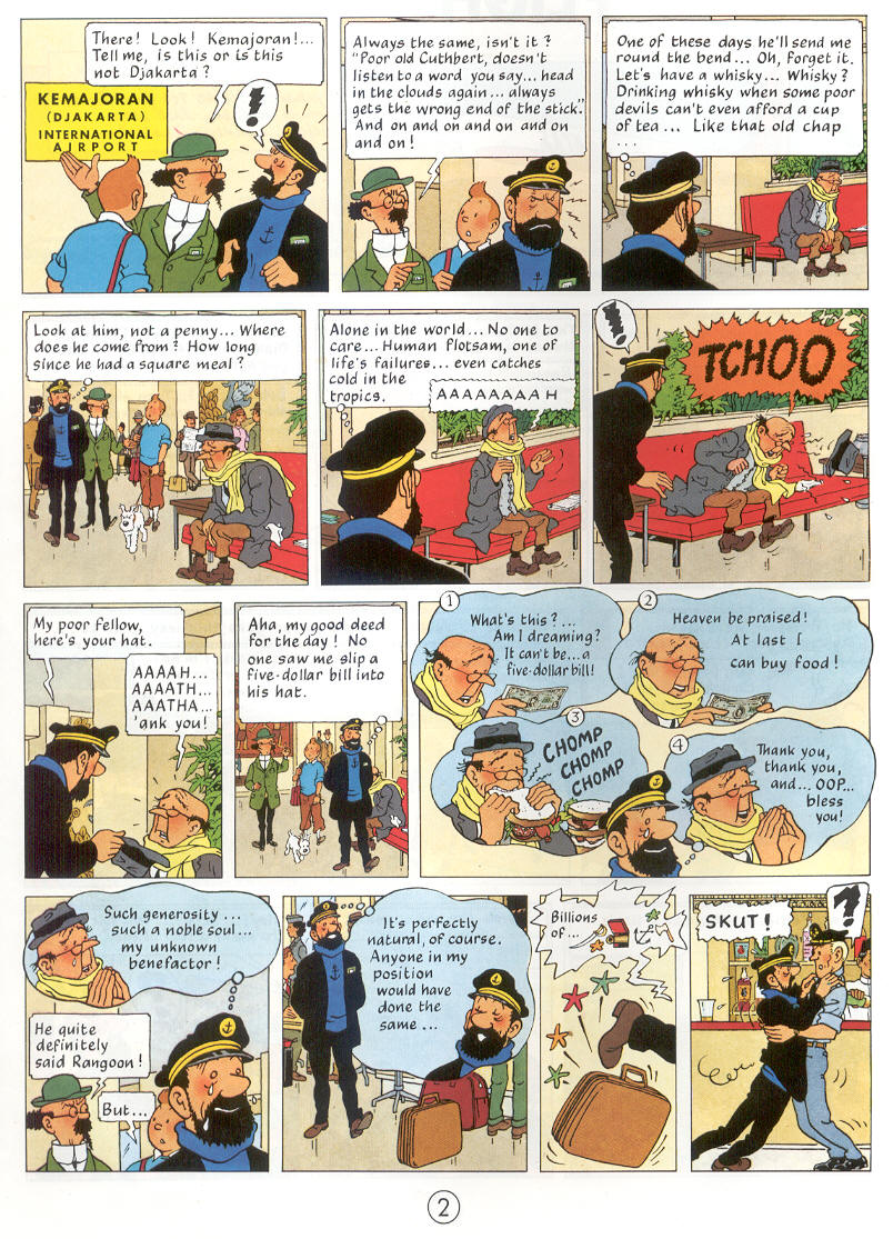 Tintin Flight 917 to Sydney review