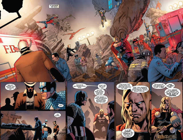 Uncanny Avengers The Red Shadow review